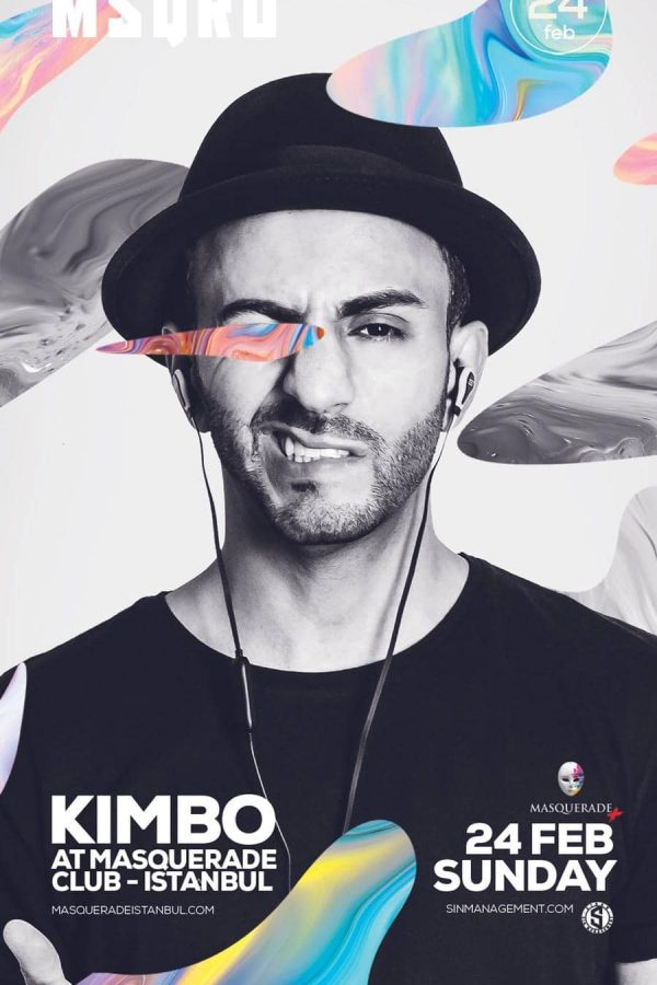 DJ KIMBO I CLUB EVENT I ISTANBUL